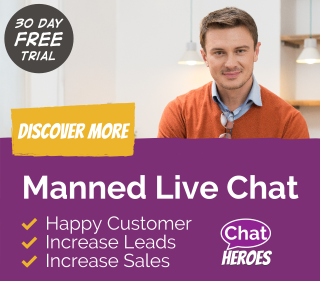 Website Chat Service with FREE Trial