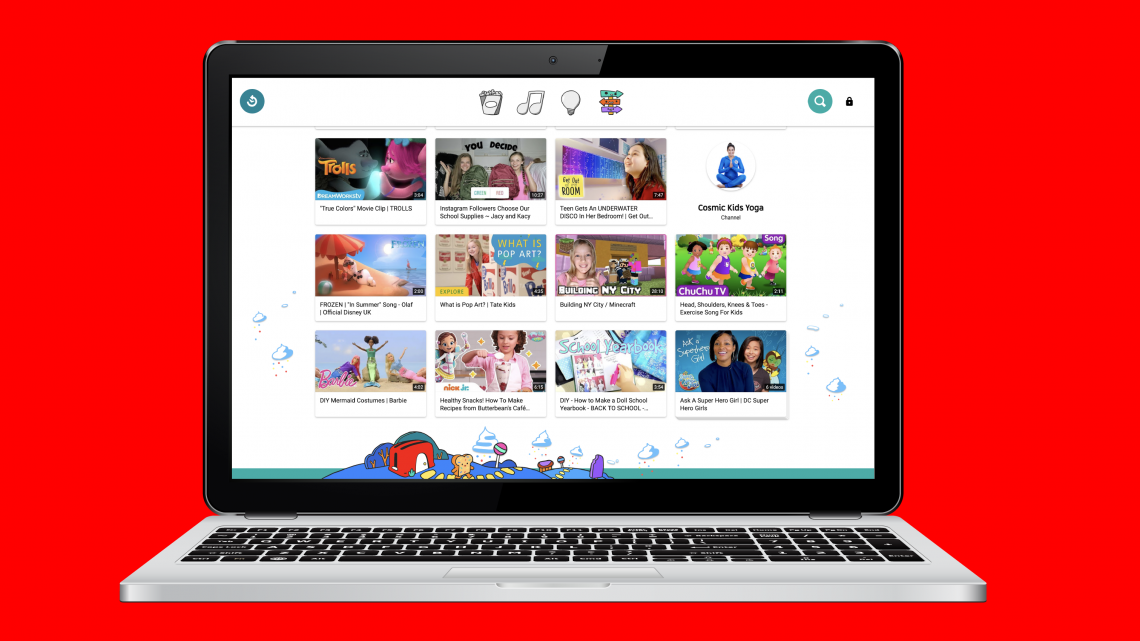 YouTube Kids launches on the web