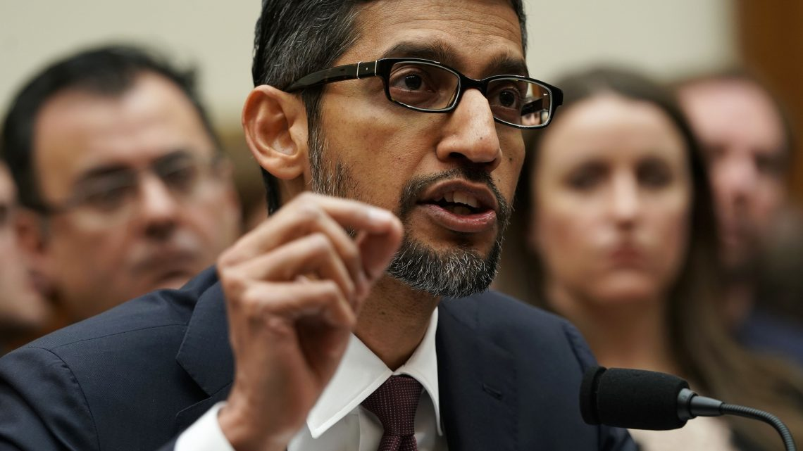 Investors like Sundar Pichai; they just pushed Alphabet into the trillion-dollar club for the first time