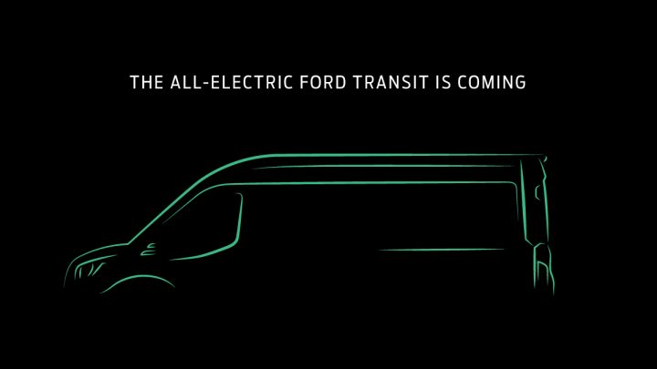 Ford is building an all-electric Transit cargo van for the US market