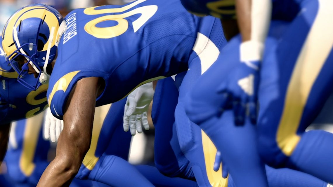 In the age of social distancing, the LA Rams turn to Snap and Madden to unveil new uniforms