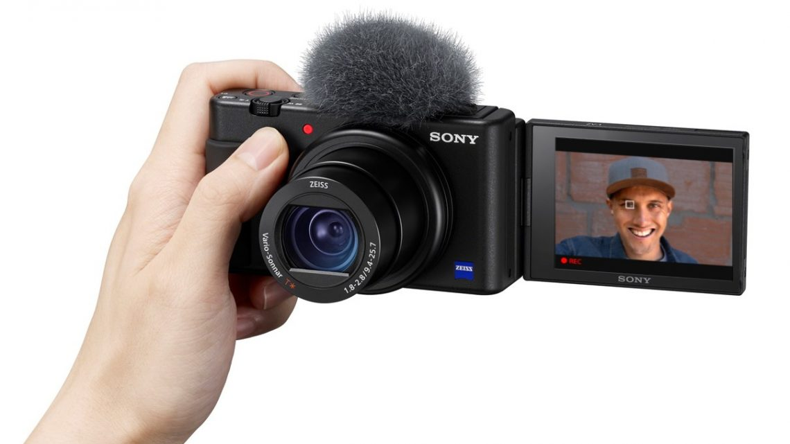 Sony's ZV-1 compact camera zooms in on vloggers