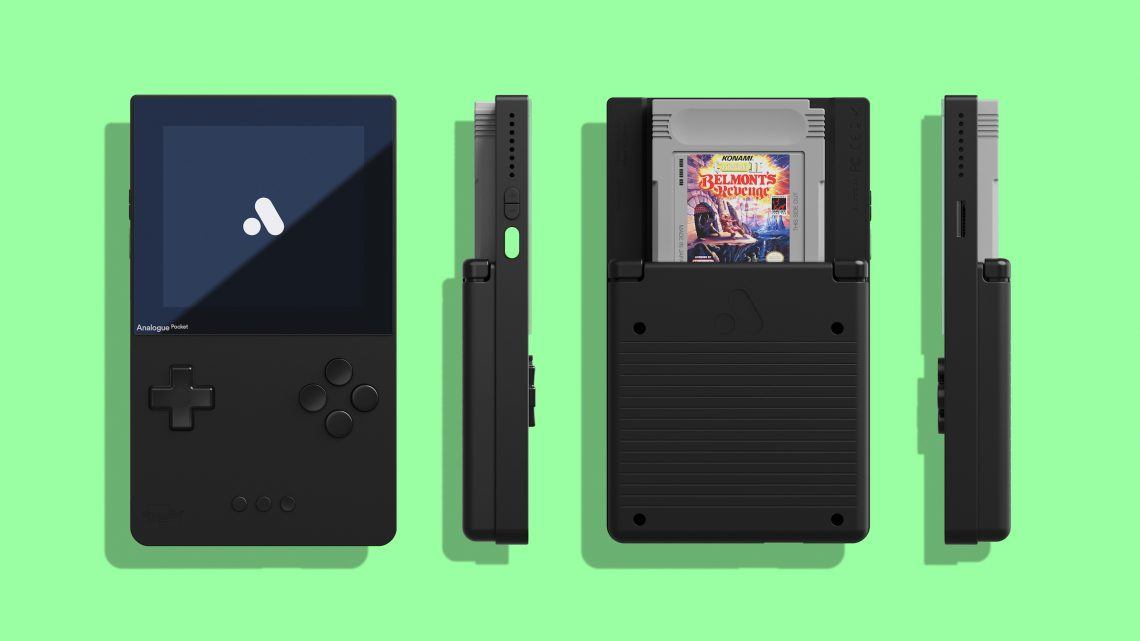 Pre-orders for the Analogue Pocket retro portable game console start August 3, ships May 2021