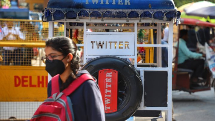 Twitter flags Indian politician's years-old tweet for violating its policy