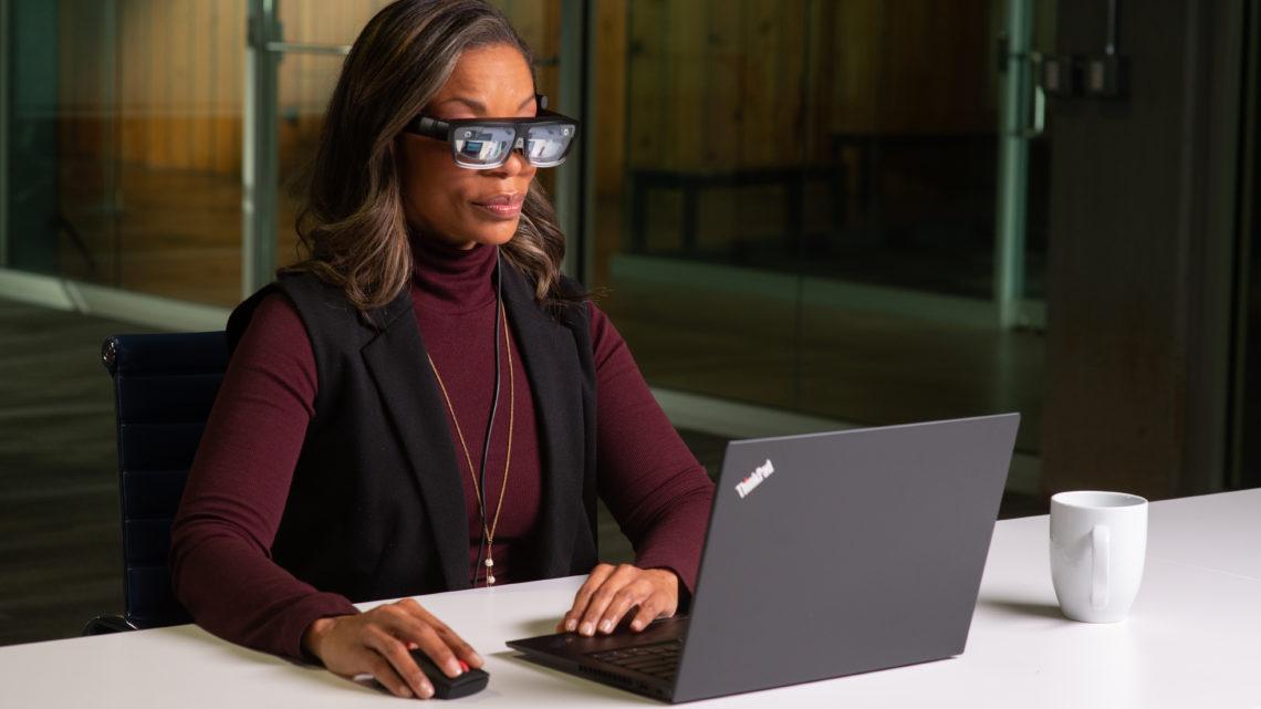 Lenovo launches AR glasses for enterprise