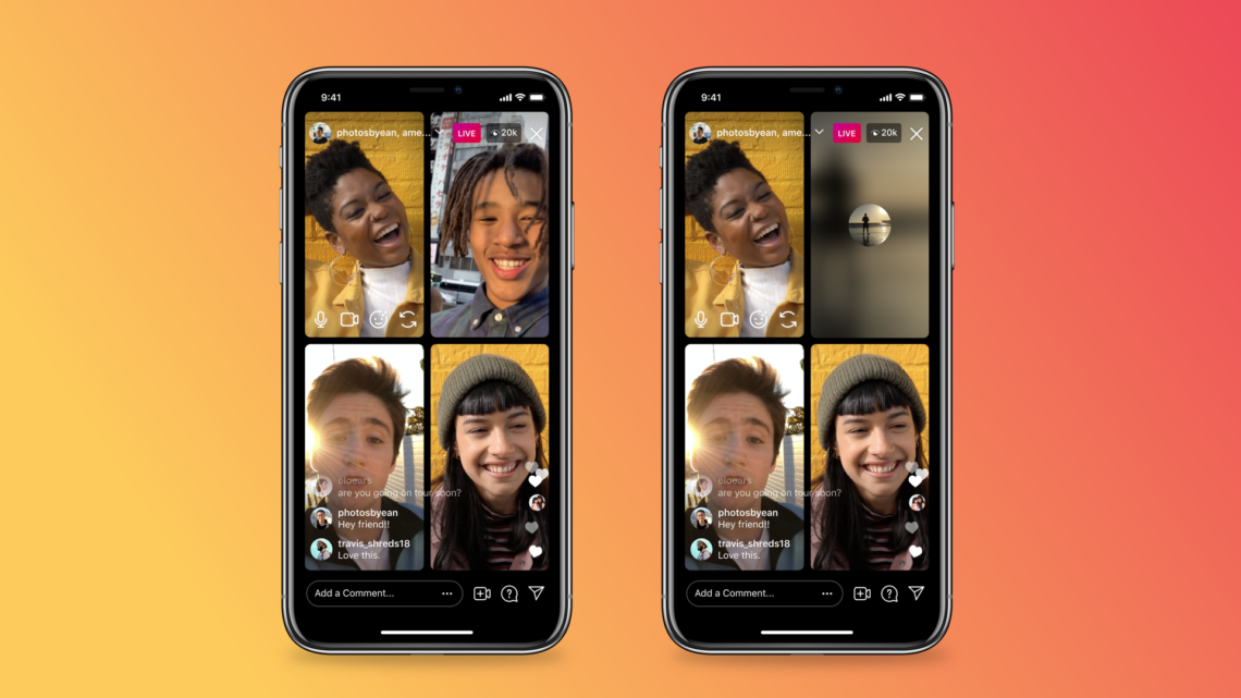 Instagram Live takes on Clubhouse with options to mute and turn off the video