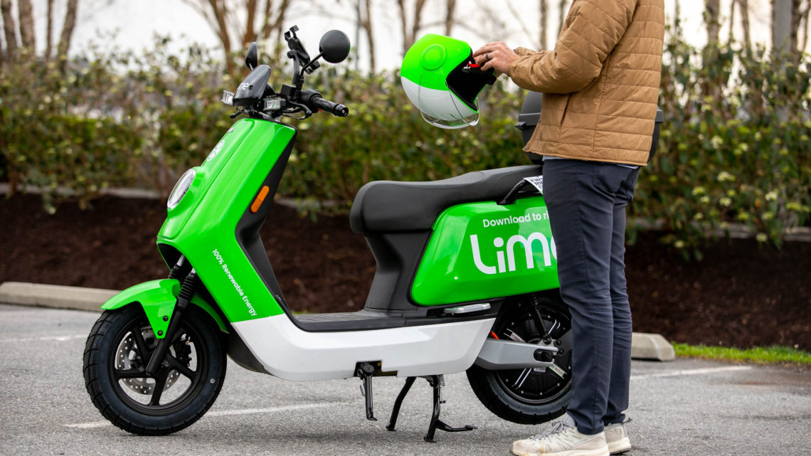 Lime launches 100 e-mopeds in New York City as Mayor de Blasio reveals plan to fully re-open by July 1