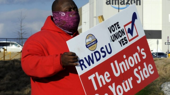 Teamsters plan aggressive push to unionize Amazon logistics workers