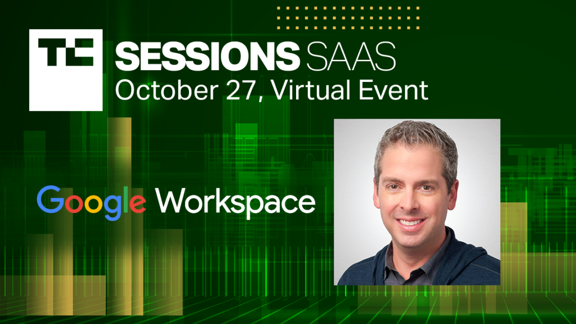 Javier Soltero, Google's head of Workspace, will join us at TC Sessions: SaaS